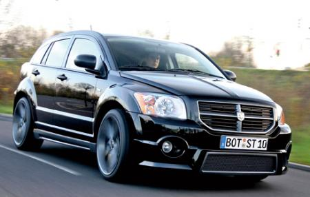 Complete parison test of the 2008 Dodge Caliber SRT4 and the