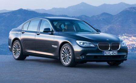 Lateral BMW Serie 7