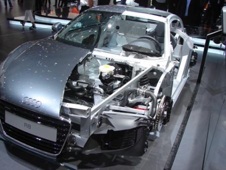 El ASF de Audi: Ligero como el aire