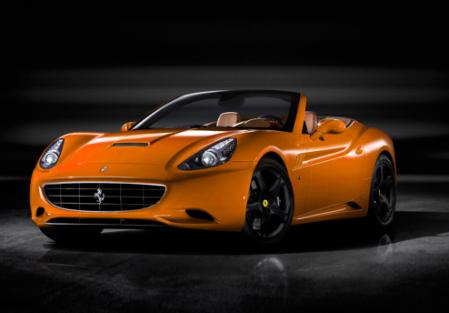 Ferrari California amarillo