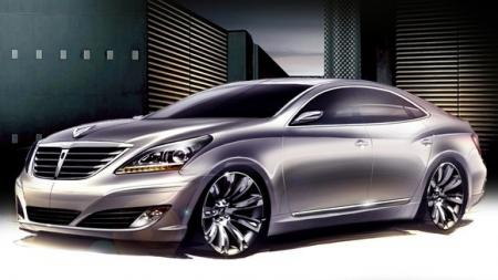 Exterior Hyundai Equus