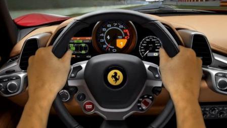Interior Ferrari 458 Italia