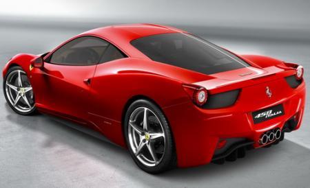 Trasera Ferrari 458 Italia