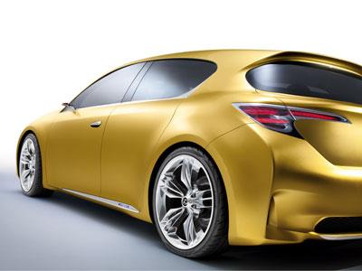 Nuevo Lexus LF-Ch: El coupé ecológico