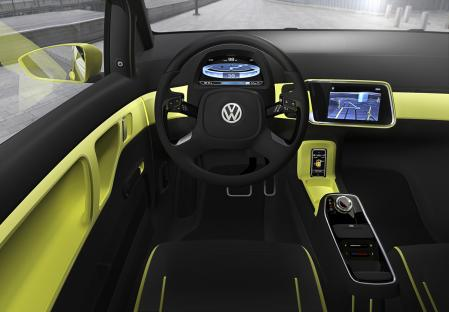 Interior VW Lupo-E 2013
