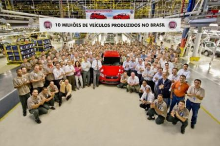 Fiat celebra treinta años fabricando motores de etanol