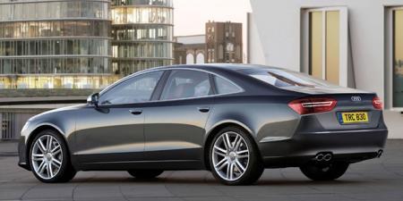 Trasera Audi A8 2010