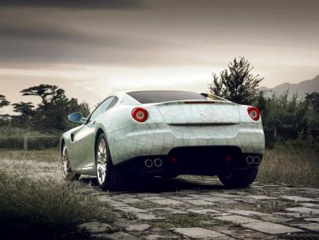 Trasera Ferrari 599 GTB Fiorano China