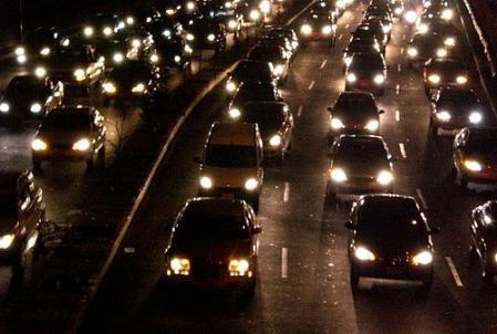 Los conductores y las luces