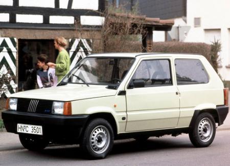 Fiat Panda viejo