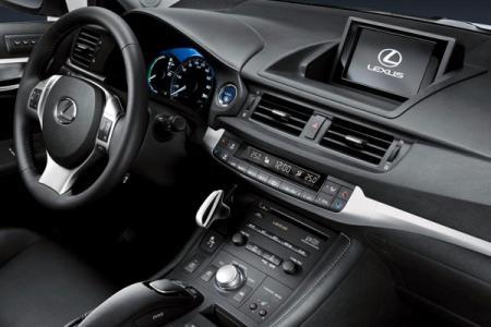 Interior Lexus CT 200h