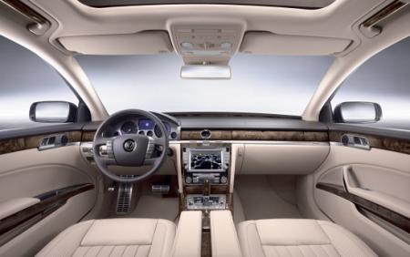 Interior Volkswagen Phaeton 2011