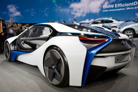 Trasera BMW Vision EfficientDynamics