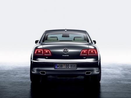Trasera Volkswagen Phaeton 2011