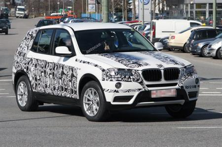 Imagen espia BMW X3