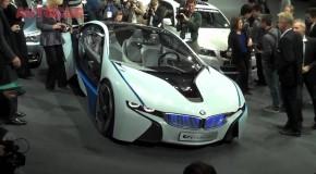 BMW Vision ED: Nuevo superdeportivo híbrido de bajas emisiones