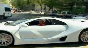El GTA Spano debuta en Madrid