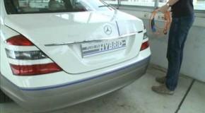 Mercedes Vision S500 Hybrid: Nuevo lujo híbrido