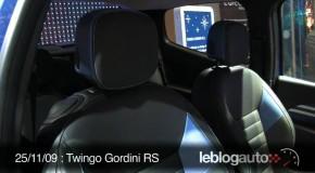 Renault Twingo Gordini RS: Será el primero de Gordini