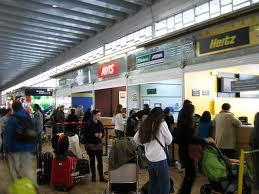 Alquilar coches en el aeropuerto de Madrid