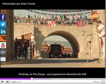 """""""The Chase"""" – el último reto de Volvo Trucks"""