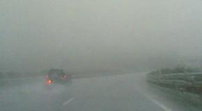 La lluvia en la carretera